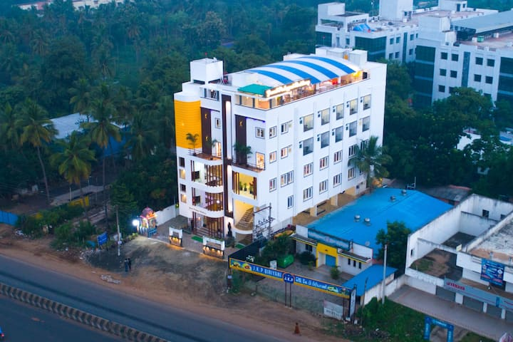 Located in the heart of South Chennai,Tamil Nadu