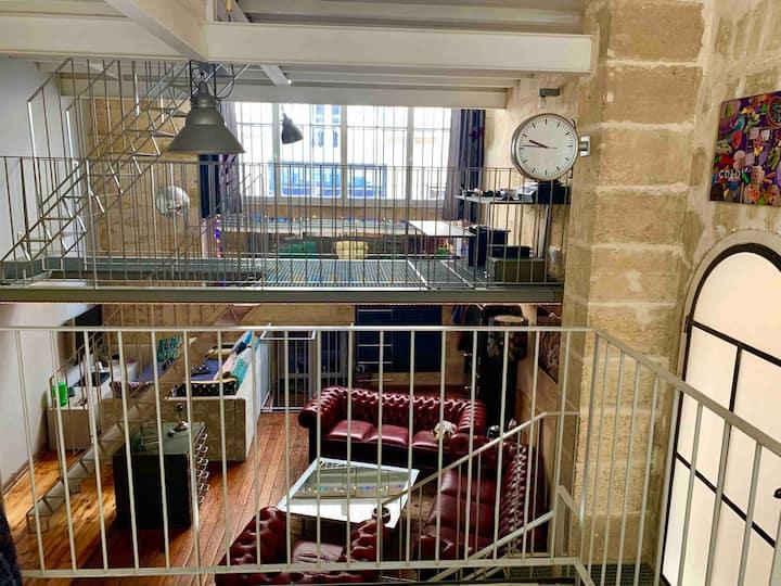 Loft Atelier au cœur du centre historique Bordeaux