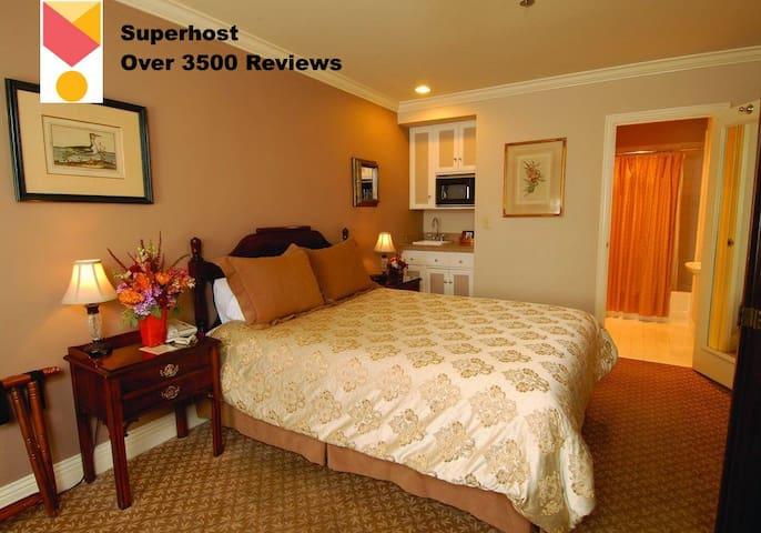 Inn at the Opera Hotel Room, Free Breakfast
