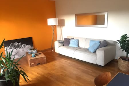3.5 room apartment & balcony 8 mins. from downtown - Zürich - Apartment