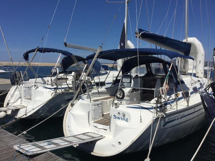 BED & BOAT  fantastica barca a vela