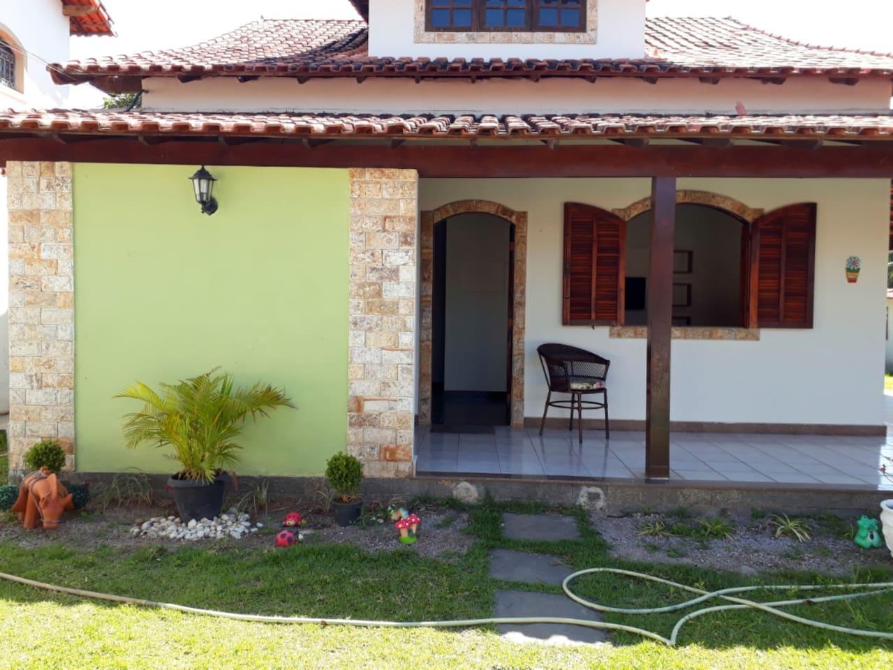 Frente da Casa Sol de Maricá