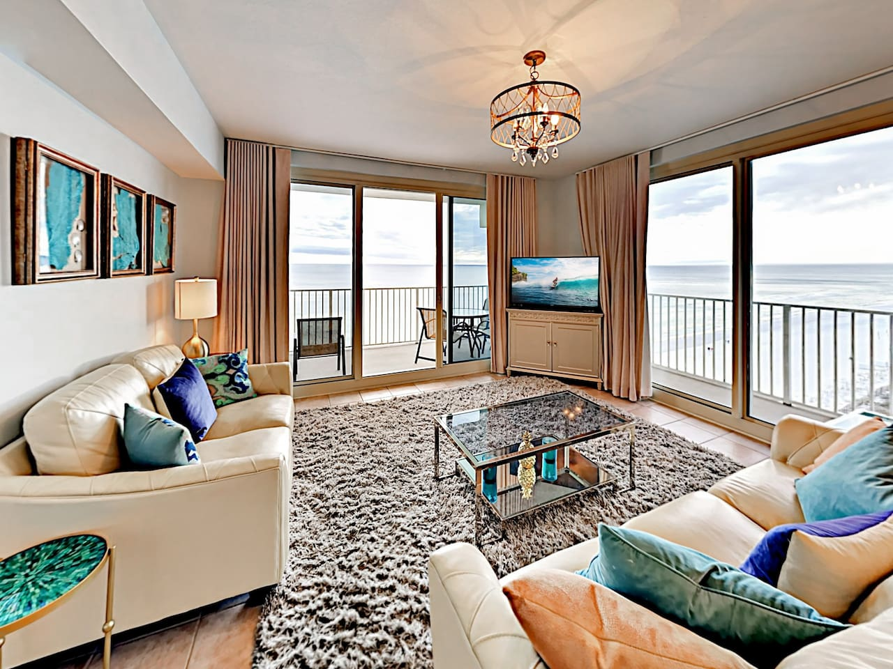 Welcome to Panama City Beach! This condo is professionally managed by TurnKey Vacation Rentals.