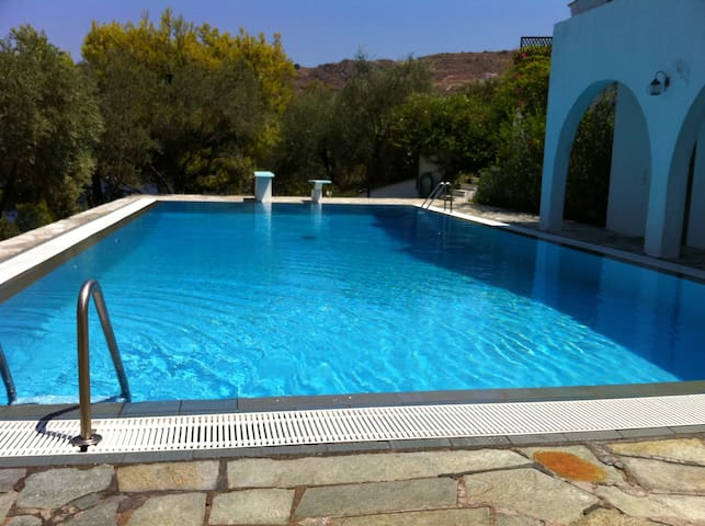 Villa Hara, Traditional luxurious villa on the sea - Egina - Holiday home