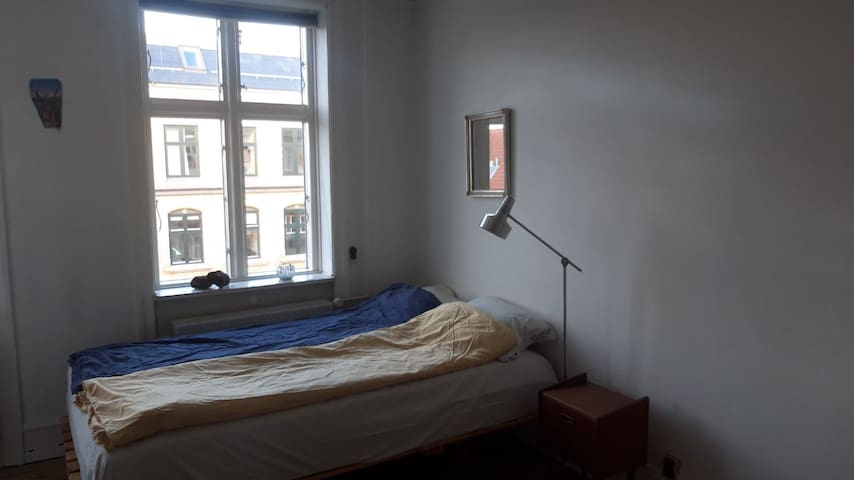 Central CPH. Cosy private room in large flat.