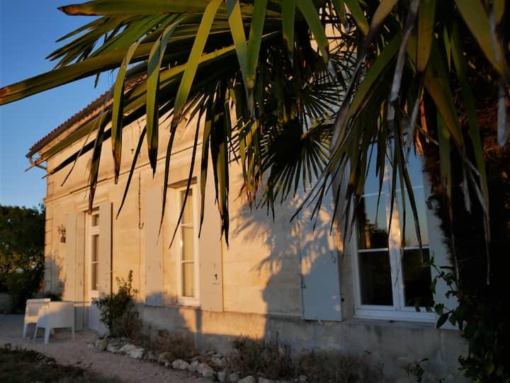 La Maison M, gîte, Gironde, Océan, Châteaux