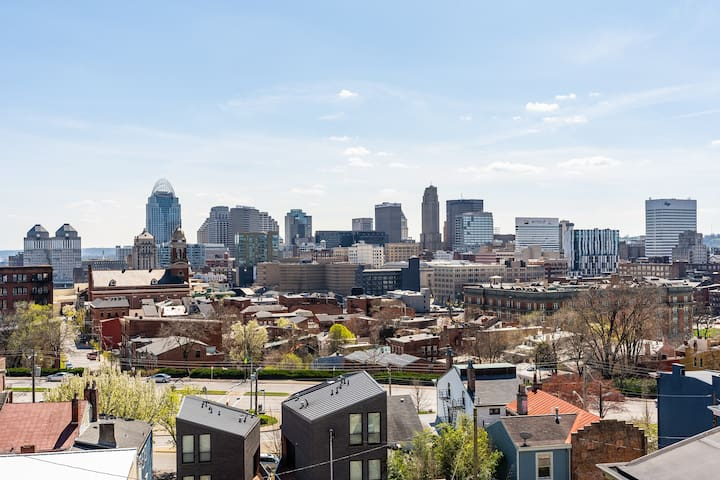 OTR Area Home With Incredible City Views!