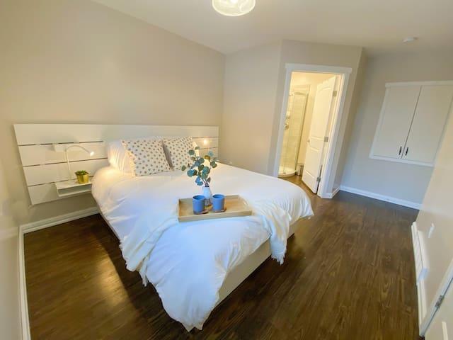 Main Floor Master Bedroom with Ensuite