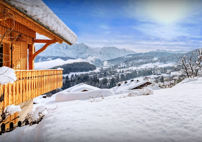 CHALET LES CERISES -  5* - Mont Blanc views, hot tub, sauna - OVO Network