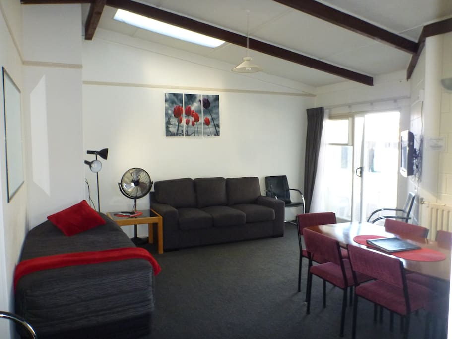 Lounge in two bedroom apartment