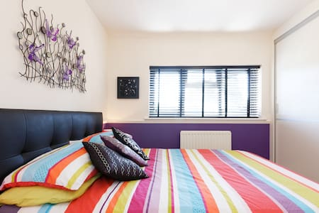 Purple Room with garden - Eltham, Greenwich - Londýn - Byt