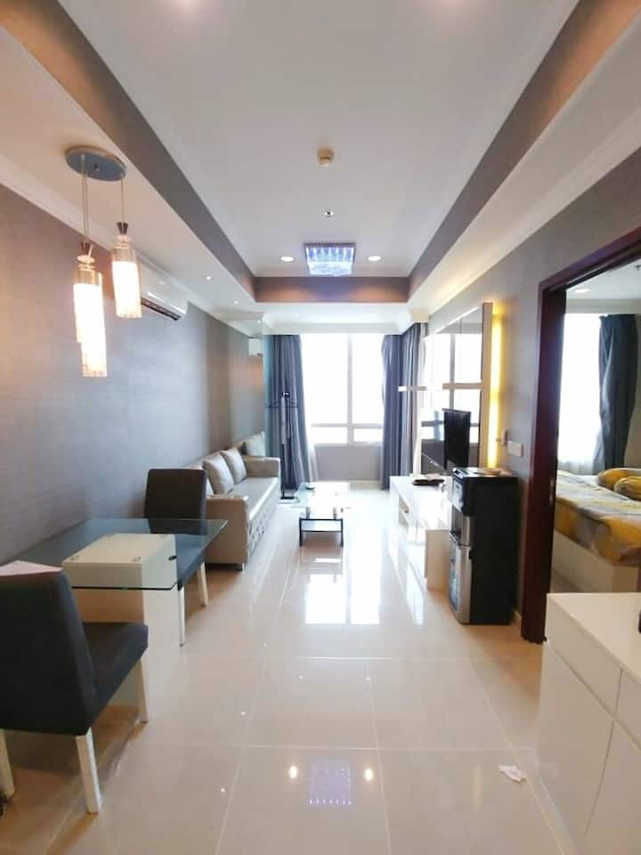 Premium Loc 1BR Apt in CBD JKT! Direct Access Mall