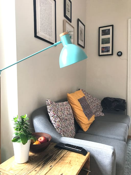 Our stylish living area