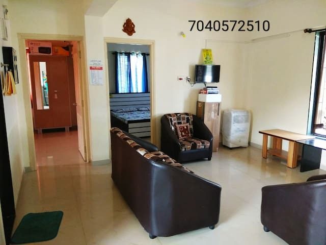 Reena Cottage: Entire2BHK Apt. 8min drive to Beach