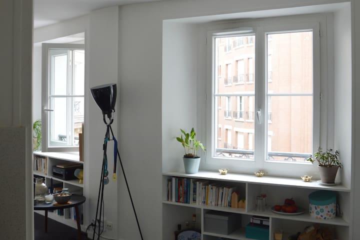 Bonne nouvelle- Studio lumineux et central !