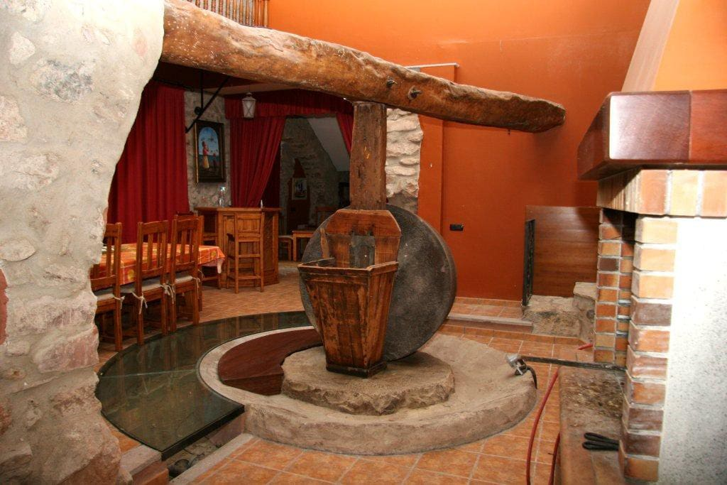 Magnifico alojamiento en la antigua almazara de Veo
