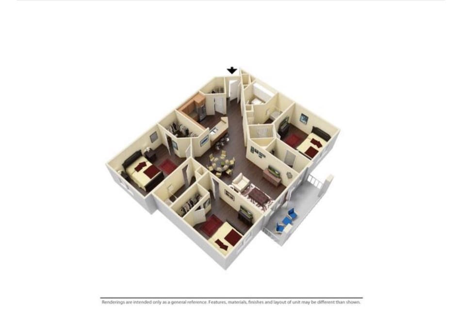 Extensive and spacious floor plan