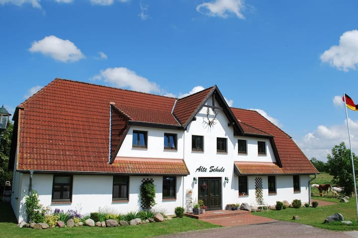 Cozy Apartment in Dargun Mecklenburg with Swimming Pool