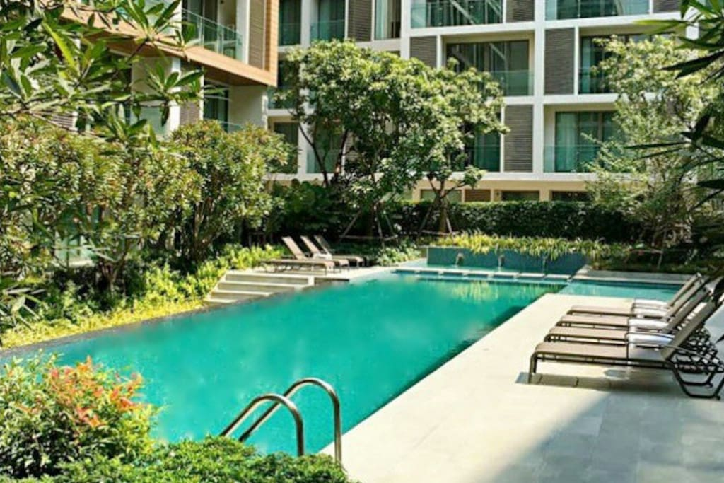 Heart Of Nimman Luxury Condo Wifi Gym Sauna Pool Apartments For Rent In