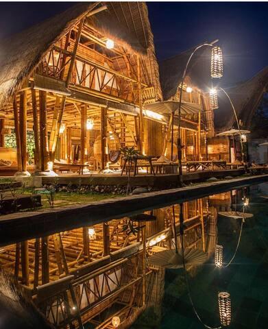 BAMBU HOUSE SEAVIEW PADANG PADANG - Bali - House