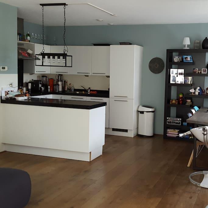 Kitchen in the livingroom