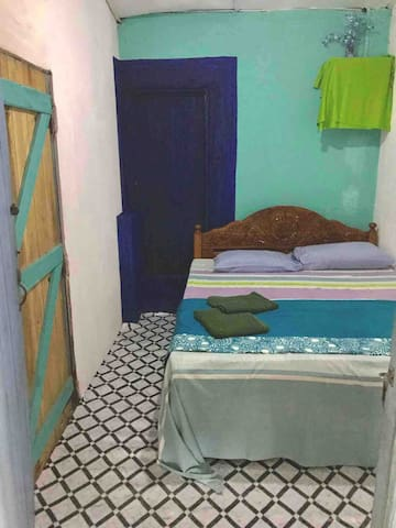 NON AC Budget room with attached toilet for 1 or 2 persons 12$