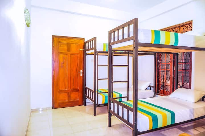 6-Bed A/C Dormitory (Mixed/Female/Male) Mirissa
