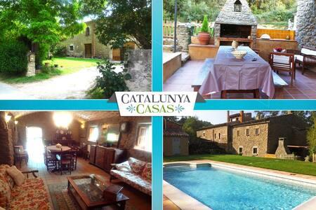 La Foixa villa 15km to Girona - Vila-Robau - บ้าน