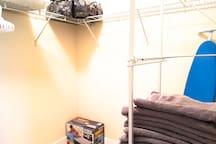 Spacious Walk-in Closet - View 1