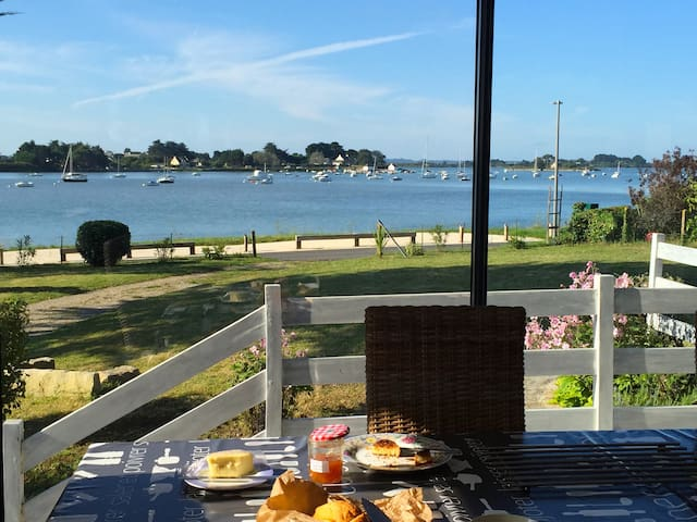 Magnifique vue sur le Golfe du Morbihan. - Séné - House