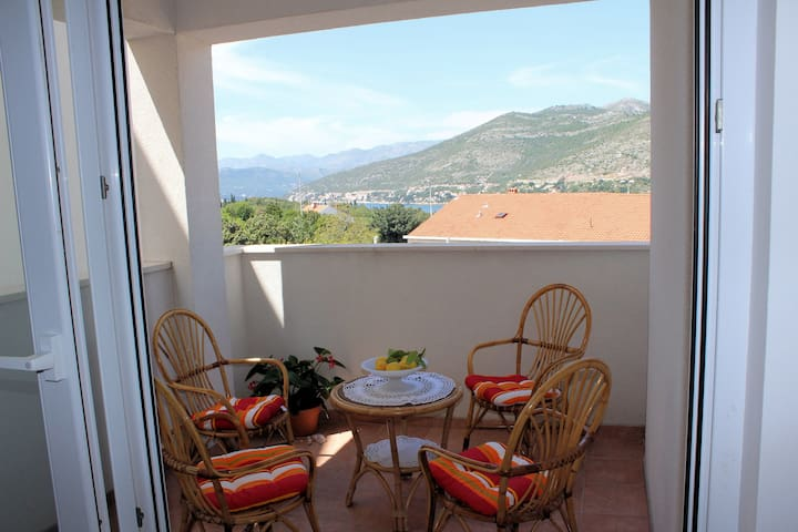 Ira - 2 Bedroom Apartment (Terrace and Sea View)