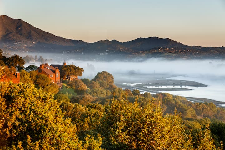 Great views and easy access to SF + Wine Country
