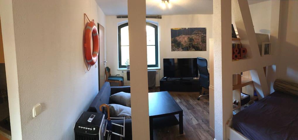 gemütliche Wohnung im Herzen Stralsunds - Stralsund - Byt