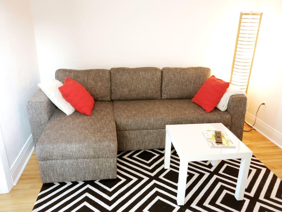 Canapé-lit