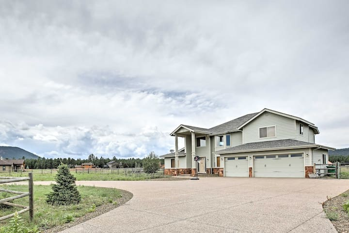 NEW! 4BR Flagstaff House on 1 Acre w/ Mtn. Views!