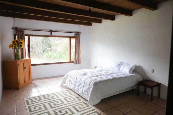 Casa Holística IK Valle de Bravo, Habitación K'in