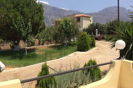 Spacious villa in Crete - Pacheia Ammos - Ev