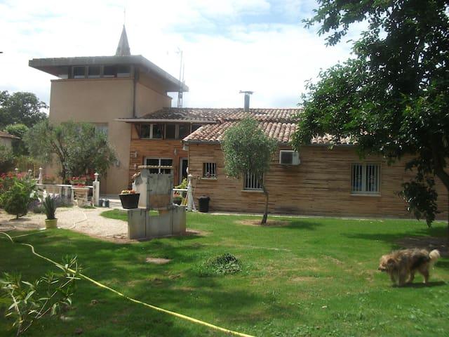 Villa Cloé: Pigeonnier à la campagne - Castelsarrasin - House