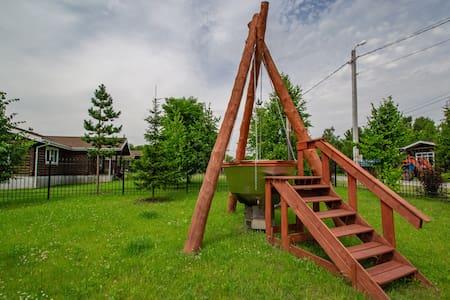 Домик на природе Сибирский | Усадьба Александрово
