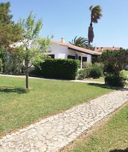 Lovely bungalow  from beautiful son Xoriguer beach