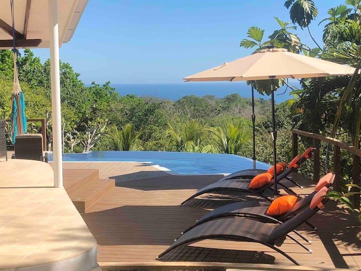 ChezMu Luxe Villa⭐️127 Reviews Ocean/Jungle View