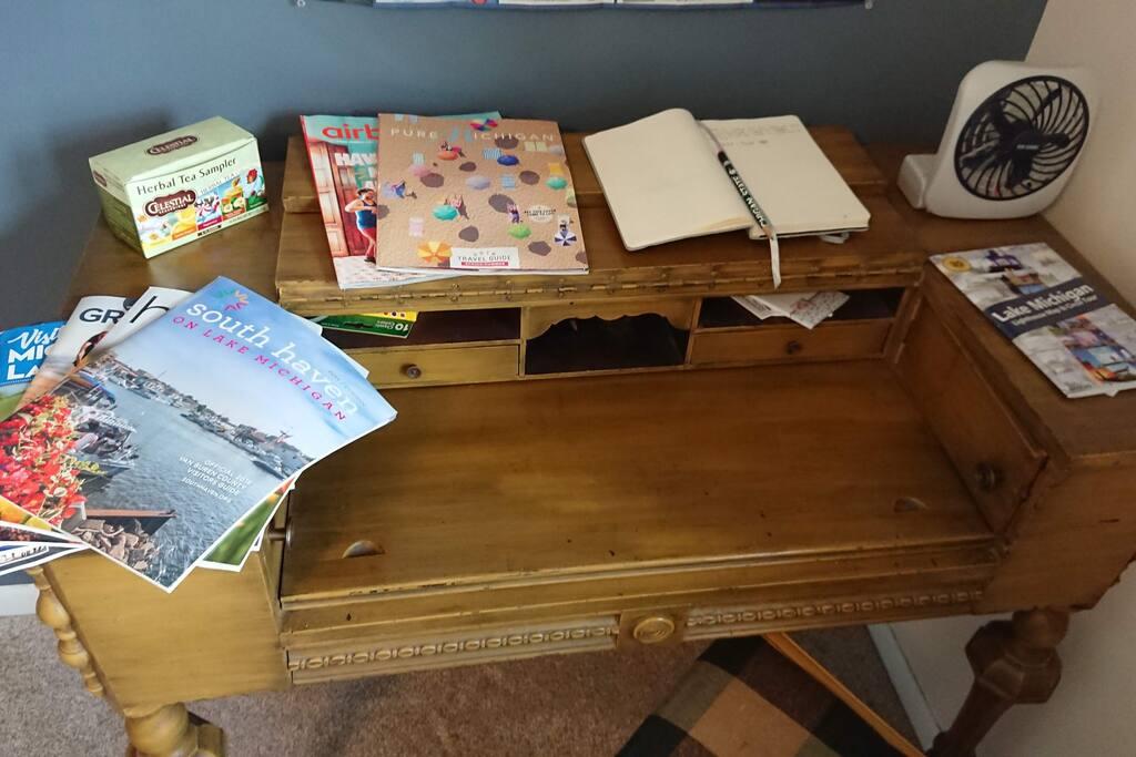 Plenty of Local Guidebooks
