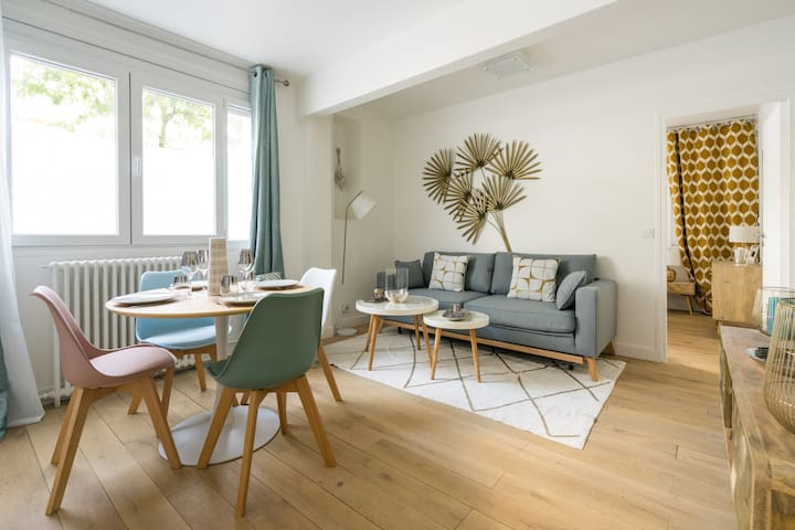 Charming appartement 2BR/6P - Place d'Italie