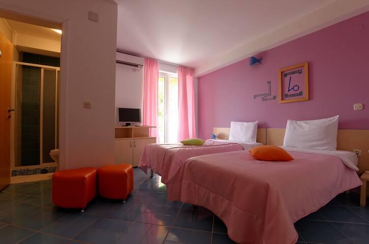 Double Bed Room, Villa Mina Lagadin - Lagadin - Wikt i opierunek