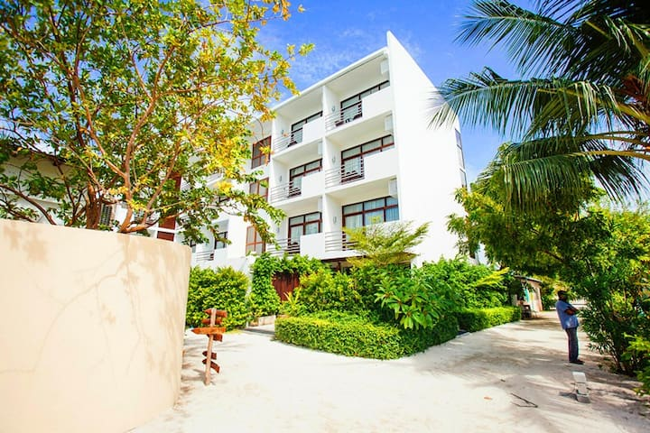 Plumeria Thinahoo Island Maldives