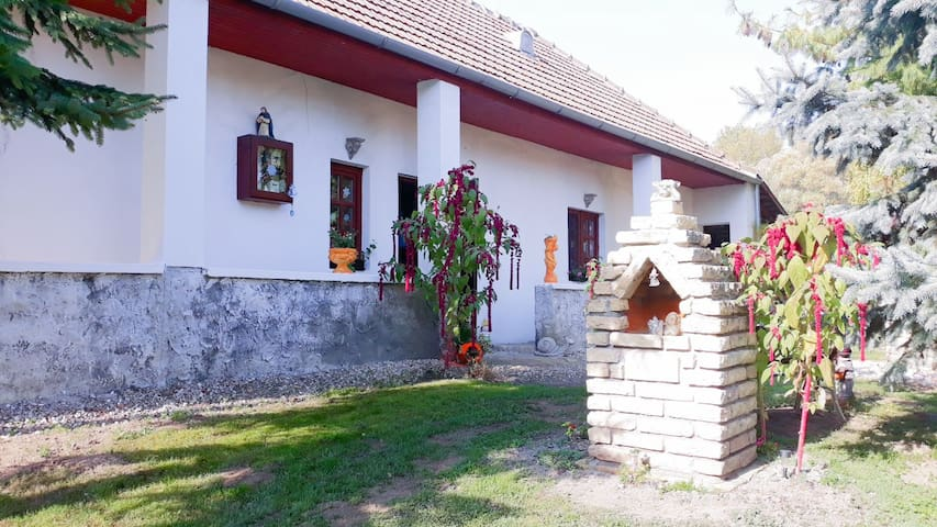 The Hungarian farm cottage
