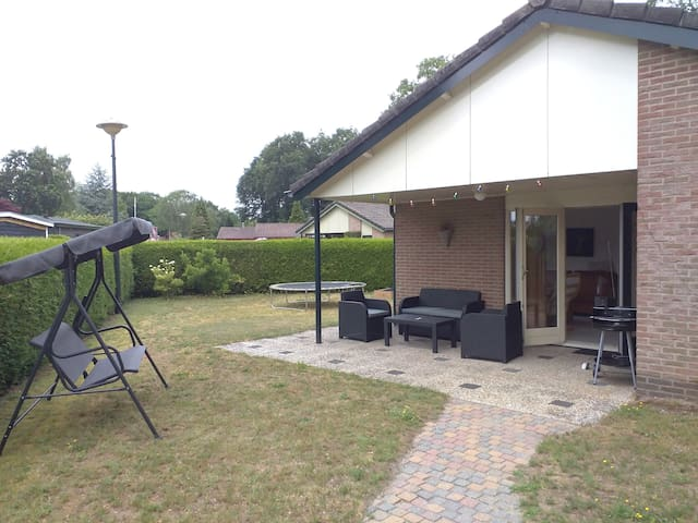 Holiday bungalow on family park incl 2 bicycles