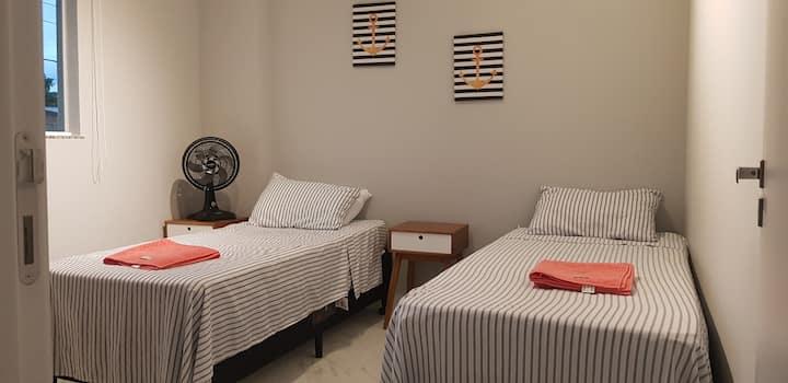 Apartamento Novo 2 quartos e churrasqueira em BC
