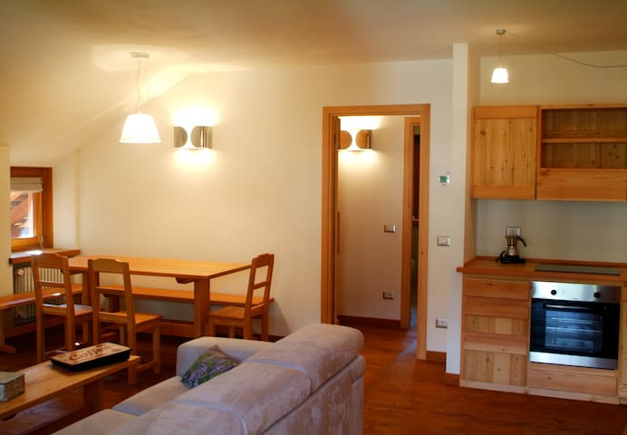 Malber Hus ski apartment 2 - Alagna Valsesia - Wohnung