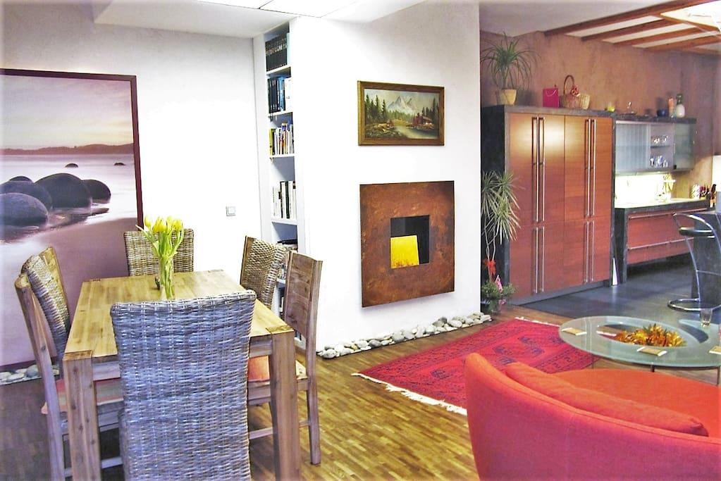 Gemeinsamer Wohnbereich / Shared living room